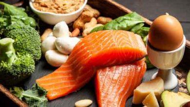 الأطعمة التي يجب تناولها في النظام الغذائي الكيتو