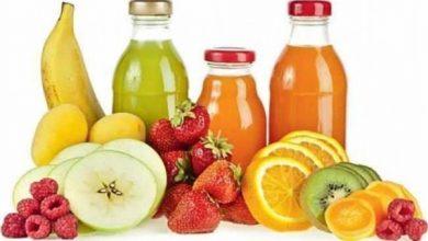 أضرار العصير الصناعى
